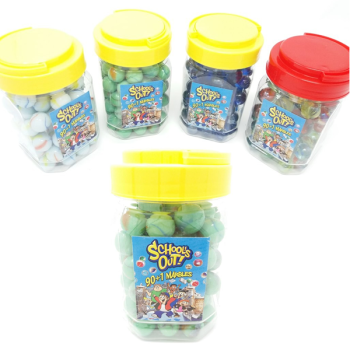 Schools Out! Marbles Jar