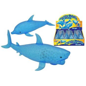 Squishy Light-Up Dolphin & Shark