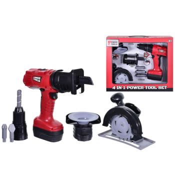 4-In-1 Power Tool Set