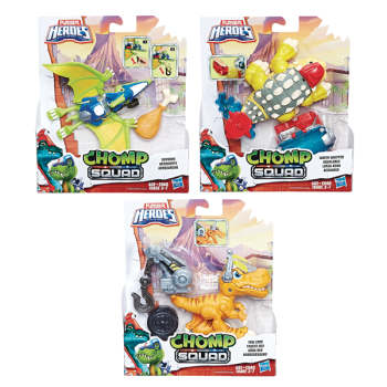Playskool Heroes Chomp Squad Figures Assorted