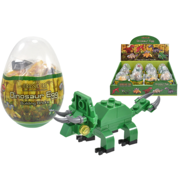 Dinosaur Brick Figures In Egg