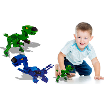 Dinosaur Building Bricks Assorted