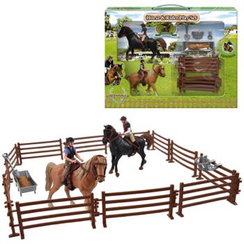 Horse & Rider Set