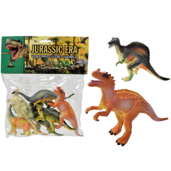 Jurassic Era 6 Piece Dinosaur Set