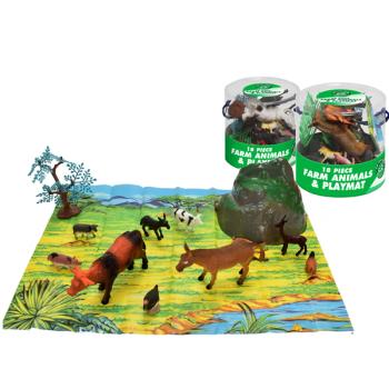Farm Animals & Playmat