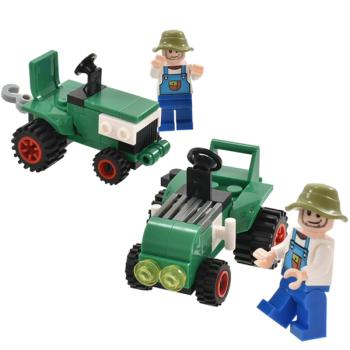 Farm Tractor Building Brick