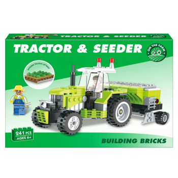 Tractor & Seeder Building Bricks