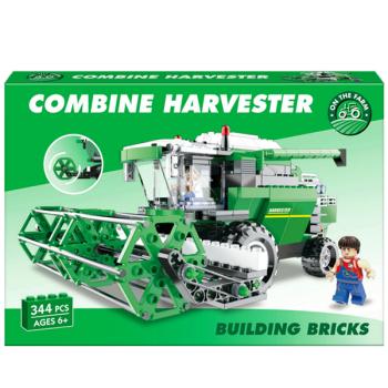 Combine Harvester Building Bricks
