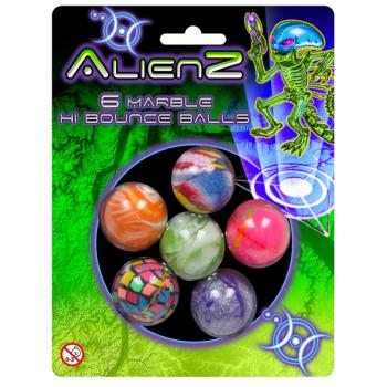 Marble Hi-Bounce Balls