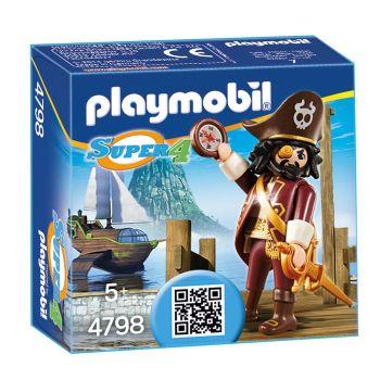 Playmobil Super 4 Shark Beard