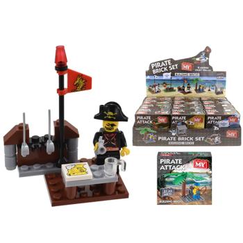 Pirate Attack Building Brick Set