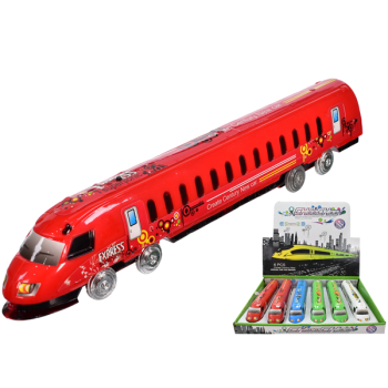 Express Train With Lights & Friction Power