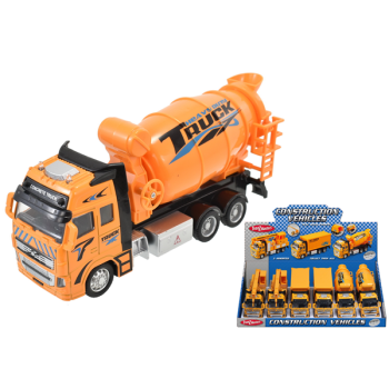 Construction Vehicle With Pull Back Power