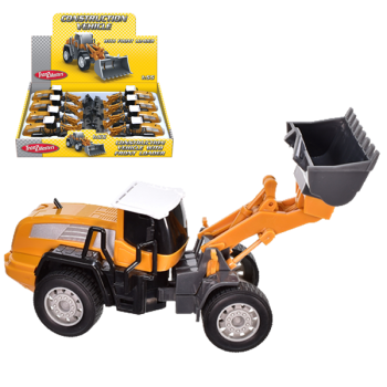 Construction Vehicle With Front Loader
