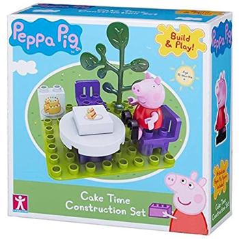 Peppa Pig Cake Time Construction Set