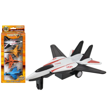 Pull Back Fighter Jet 4 Pack