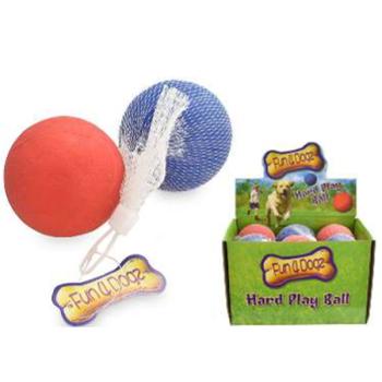 Fun 4 Dogz Hard Ball