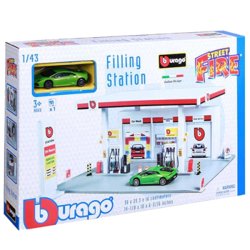 Burago Street Fire Filling Station
