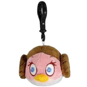 Star Wars Angry Birds Princess Leia Plush Clip