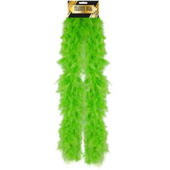 Feather Boa Green
