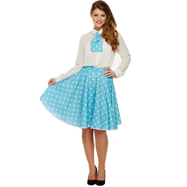 Polka Dot Girl - Blue