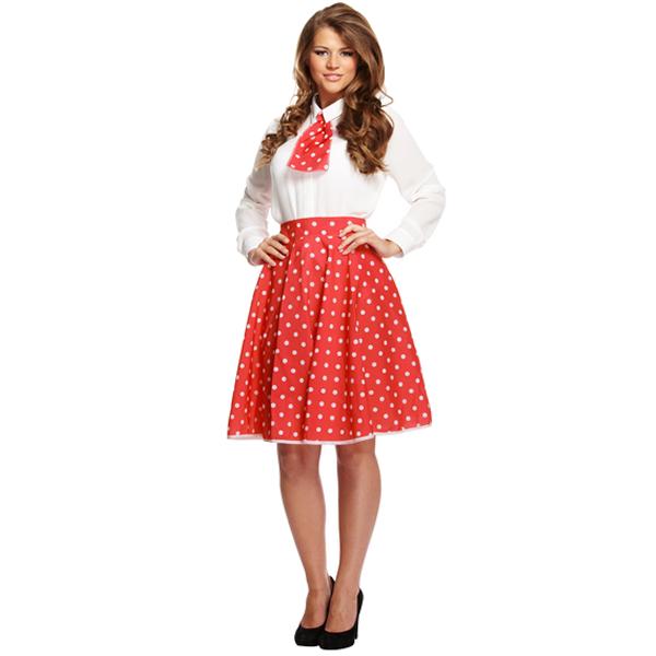 Polka Dot Girl - Red