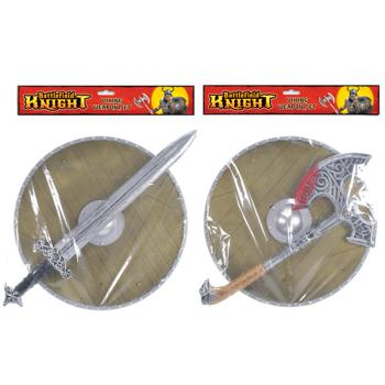 Viking Sword & Shield / Axe & Shield Set