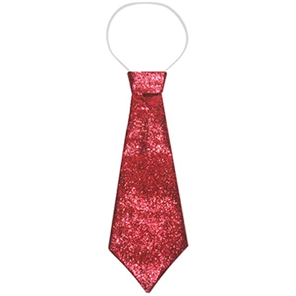 Red Glitter Tie