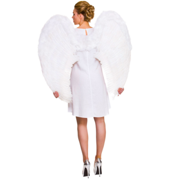 Feather Angel Wings XXL White