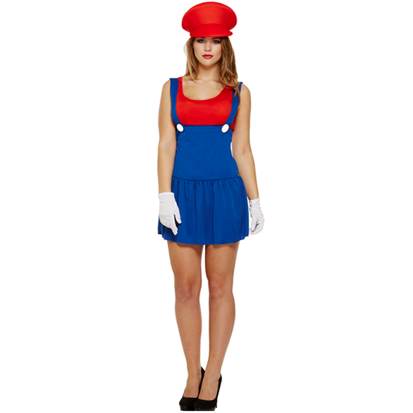 Super Workwoman Red