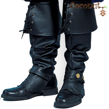 Leather Look Boot Covers