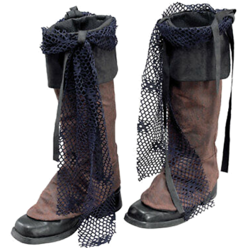 Pirate Boot Covers Distressed