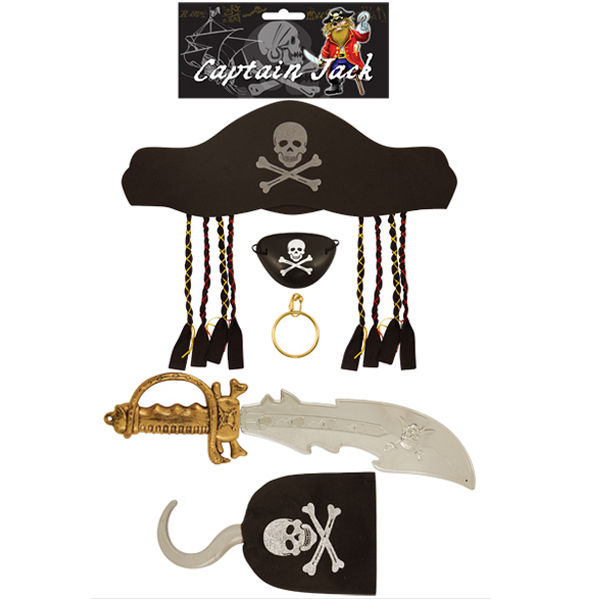 Pirate Set With Hat