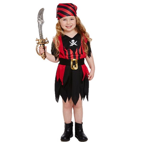 Pirate Girl - Toddler