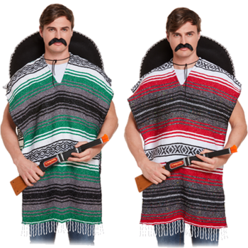 Deluxe Poncho Assorted