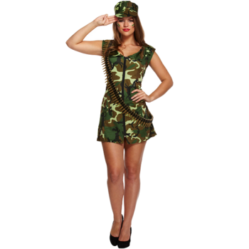 Sexy Army Girl