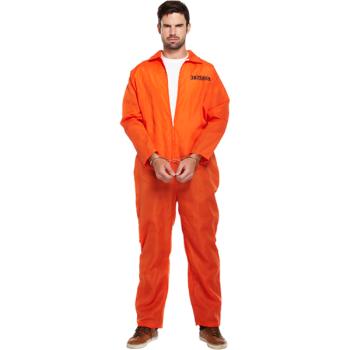 Prisoner Overlalls Adult Costume