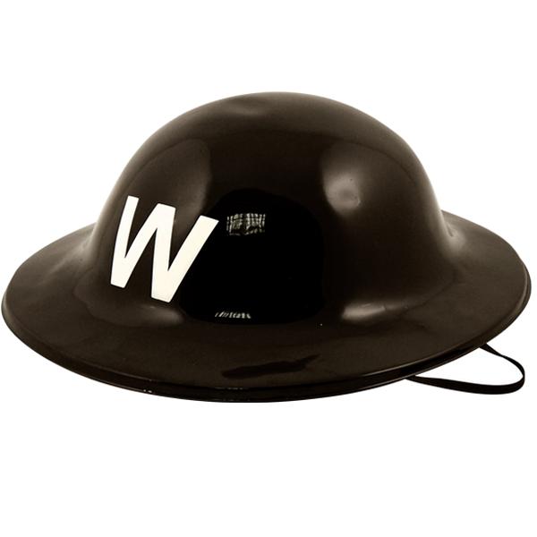 Plastic Air Raid Warden Helmet