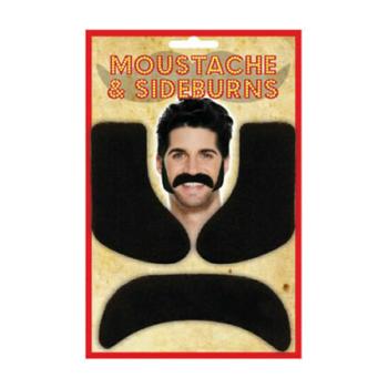 Moustache & Sideburns