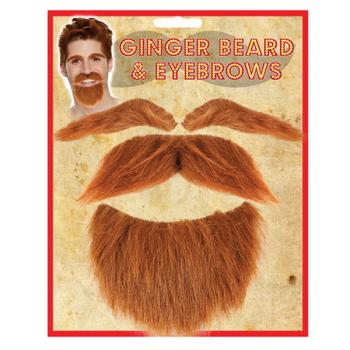 Ginger Beard And Eyebrows