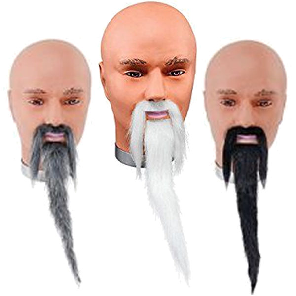 Wizard Beard And Tache Set