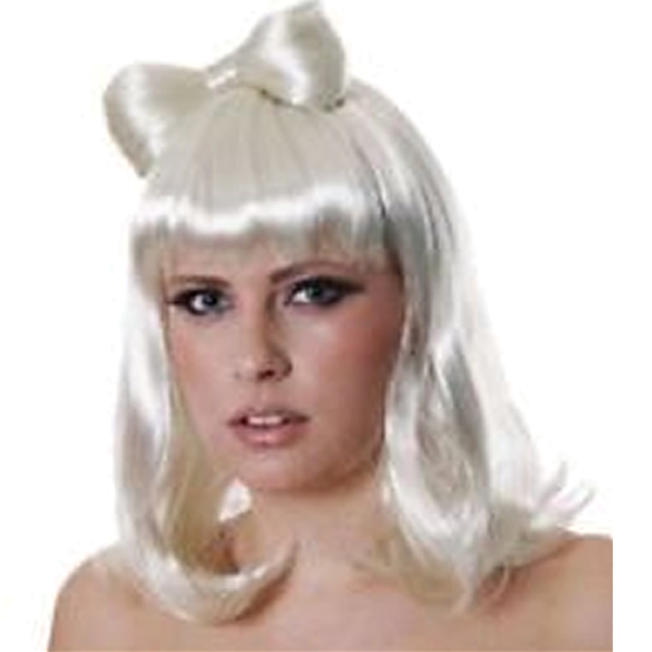 Lady Wig With Bow