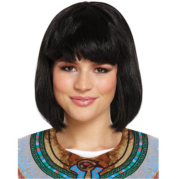 Black Mid-Length Wig