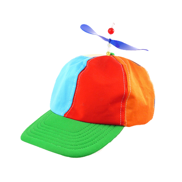 Clown Helicopter Hat