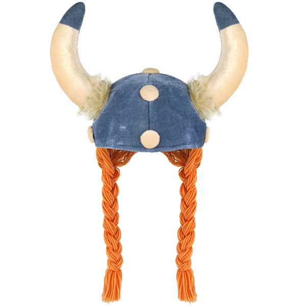 Viking Hat With Plaits