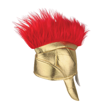 Fabric Roman Helmet