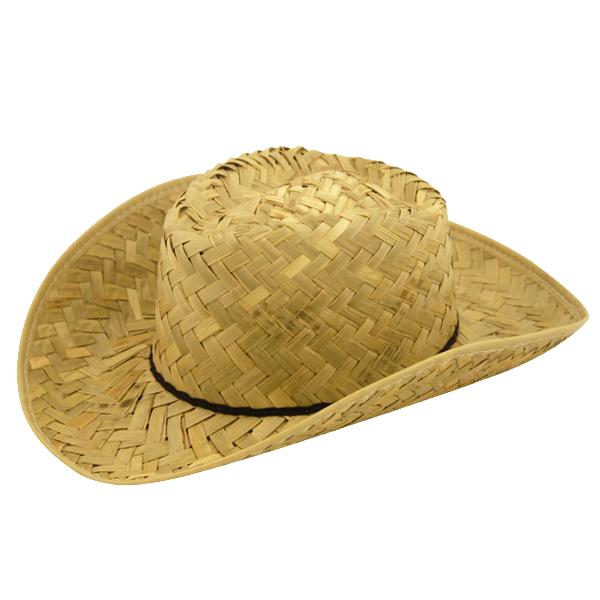 Straw Western Ranger Hat