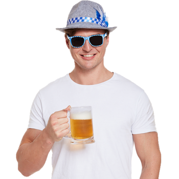 Oktoberfest Hat and Glasses
