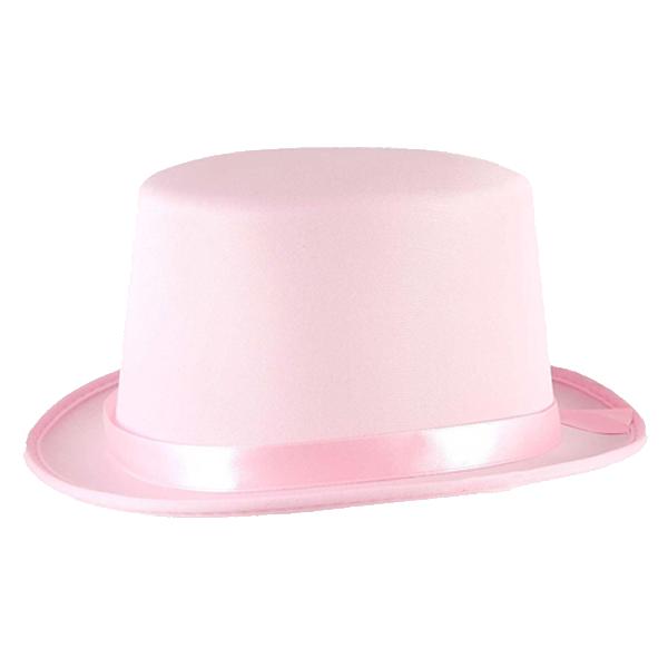 Pink Satin Topper