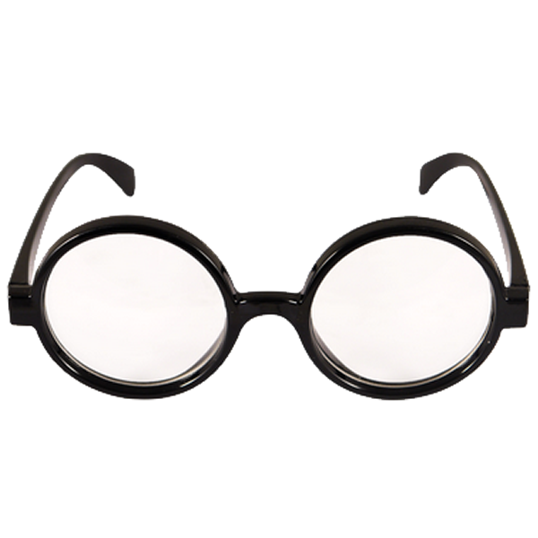 Wizard Boy Glasses With Clear Lens